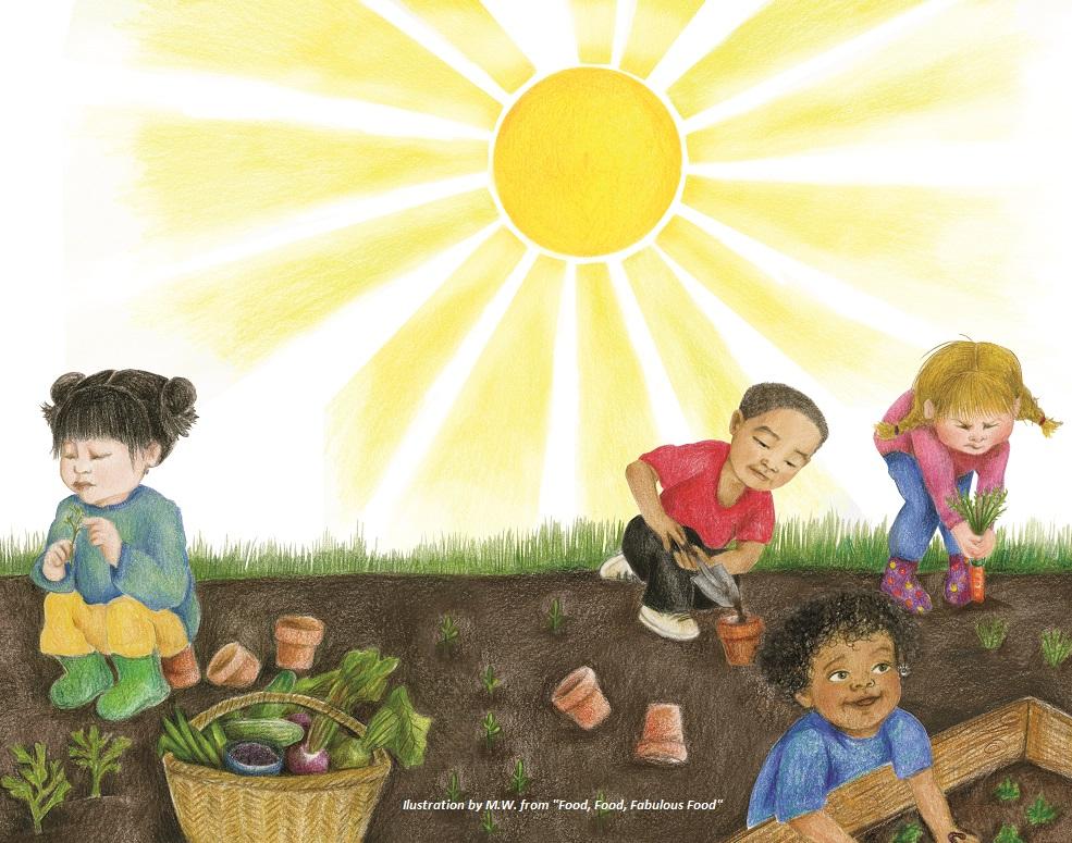 National Children's Gardening Week 2021