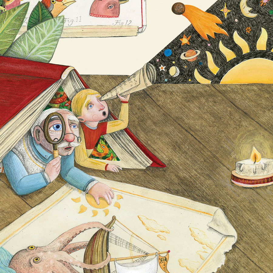 Still enjoying Share-a-Story month? Travel to new worlds, even if it's just in your imagination