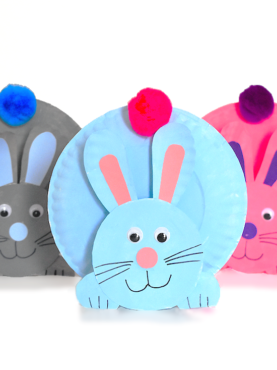 Paper plate Bunnies