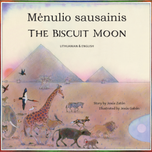 The Biscuit Moon Lithuanian