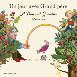 A Day with Grandpa French and English