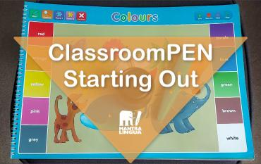 Thumbnail for a basic video-tutorial of the ClassroomPEN talking pen