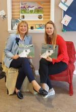 Gill Aitchison and Karolina Lewandowska, author and teacher/translator